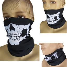 Wholesale Skeleton Face Scarf - 2015 Fashion Motocross motorcbike bicycle face mask skeleton masks Variety personalized scarves Skull Multi Bandana Bike Motorcycle Scarf