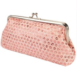 Wholesale Wholesale Clutches Evening Handbags - Wholesale-Hot Handbag Vintage Womens Envelope Bag Day Clutch Long Wallet Purses Hasp Phone Evening Bags Party 4 Color Trend Style