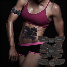 Wholesale Abdominal Belts - EMS Muscle Stimulator Smart Slimming Massage Belt Abs Abdominal Muscle Toner Core Abs Workout Belt EMS Abdominal Muscles