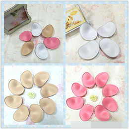 Wholesale Sexy Invisible Swimsuits - New Popular Sexy Bikinis Swimsuit Sponge Bra Invisible Inserts Pads foam Push Up Enhancer Breast intimate products insert in bra