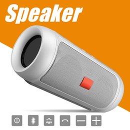 Wholesale Subwoofer Speaker Portable Mini - Speakers Bluetooth Subwoofer Speaker Wireless Bluetooth Mini Speaker Charge 2+ Deep Subwoofer Stereo Portable Speakers With Retail Package