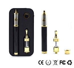 Wholesale Black Spinners - Instock!!! 1pcs Carbon Vision Spinner 3 starter kit with variable voltage vision spinner 3 battery and gold Protank III tank free ship