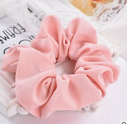 Wholesale Wholesale Ponytail Extensions - Fashion Women Elastic Hair Accessories Party Hair Scrunchies Ponytail Holder Hairband