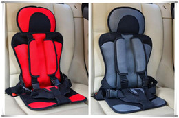 Wholesale Baby Harness Carrier - 2016 New Car Sit Baby Car Seat Child Safety Seats Thickening Baby Car Seat baby auto Cushion Protection Harness Carrier Free Shipping
