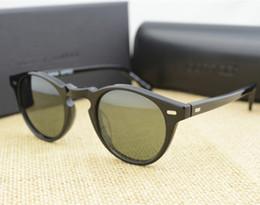 Wholesale Oliver People - Wholesale-Vintage Men And Women Sunglasses Oliver Peoples 5186 Sun Glasses OV5186 Polarized Gregory Peck Glasses Retro Designer Men Brand