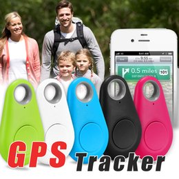 Wholesale Voice Gps - Mini Wireless Phone Bluetooth 4.0 GPS Tracker Alarm iTag Key Finder Voice Recording Anti-lost Selfie Shutter For IOS Android Smartphone