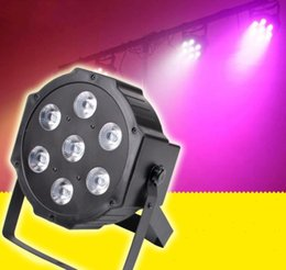 Wholesale Auto Noise - LED Par 7x12W RGBW 4IN1 LED Wash Light Stage Uplighting No Noise LLFA