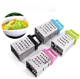wholesale gadgets sell Promo Codes - Factory direct selling mini plane stainless steel grater all around Multi-functional shredder Kitchen gadgets