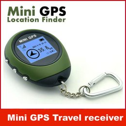 Wholesale Antennas 4g - New Mini GPS Receiver Backtrack Personal Location Finder Multifunctional Handheld Mini GPS Tracker