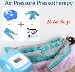 Wholesale Portable Pressotherapy - Portable Pressotherapy Lymph Drainage Machine 24 Air Bags Air Pressure Pressotherapy Body Massage Body Detox Body Slimming For Salon Use