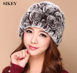 Wholesale-Free shipping genuine rabbit fur caps womens Real Rex Rabbit Fur  Cap ~Fashion Hat WHOLESALE RETAIL DROP SHIPPING 4fcaa411e4cc