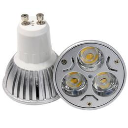 Melhor bulbo dimmable conduzido on-line-Venda quente Melhor Qualidade Dimmable Downlight 85 ~ 265VAC CONDUZIU a Lâmpada GU10 E27 MR16 9 W Lâmpadas Holofotes