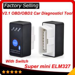 Wholesale Diagnostic Software Elm327 - 2016 new version ELM 327 V2.1 USB CAN-BUS Scanner ELM327 Auto Diagnostic Software Super scanner Free shipping