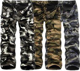 Ich jagdhose online-Männer Camouflage Tactical Transport Outdoorhose Männer Kampf Wandern Army Training Pants Jagd Im Freien Sport-Hose