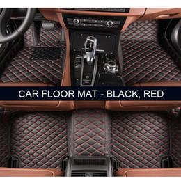 Wholesale Heavey Duty - Custom fit car floor mats for Honda Accord Civic CRV Crosstour Fit City HRV Vezel 3D car-styling heavey duty carpet floor liner
