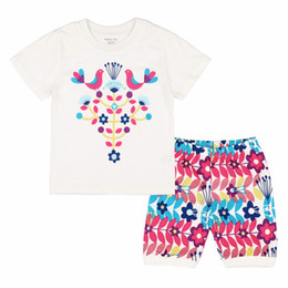 Wholesale Dragon Pajamas - 2016 Summer Top Cosplay T-shirt Short Sleeves The Chinese Dragon Pattern Casual Clothes Kids Boys Girls Fashion The Little Baby Clothing