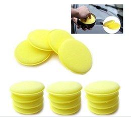 Wholesale Foam Applicators - 12pcs Waxing Polish Wax Foam Sponge Applicator Pads For Clean Car Vehicle Useful Free Shipping, dandys