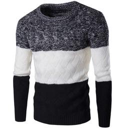 Мужской корейский пуловер онлайн-Новый стиль мужчины зима пуловер свитер бренд Вязание с длинным рукавом O-образным вырезом тонкий корейский модная одежда мужчины свитер M-2XL