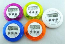 Wholesale Timer Digital Clip - novelty digital kitchen timer Kitchen helper Mini Digital LCD Kitchen Count Down Clip Timer Alarm #35161