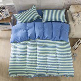Wholesale Apple Duvet - Wholesale-Special Gift 4pcs Cotton Printing Bedding Set Apple Bed Sets Bedding-set Home Textile Duvet Cover Sheets Pillow Whitout Core