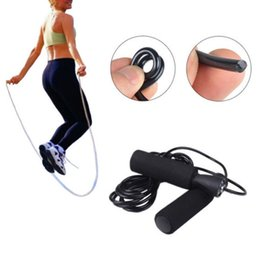 Wholesale Bearing Skipping Rope - S5Q Adjustable Bearing Speed Skipping Aerobic Exercise Boxing Jump Rope Fitness AAAEJR