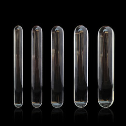 2019 хрустальная палочка Стекло фаллоимитатор мастурбатор Кристалл Pyrex пенис анус стимулятор анальный разбрасыватель штекер для мужской женский секс-игрушки новый стиль различные размер B0104015
