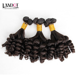 Wholesale Hair Bouncy Loose Curls - Mongolian Curly Virgin Hair Aunty Funmi Human Hair Weave Bundles Bouncy Spiral Romance Loose Deep Curls Mongolian Remy Human Hair Extensions
