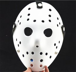 Wholesale Jason Face - 100pcs lot Free shipping Jason mask Hockey mask halloween mask