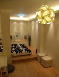 Candelabros de salón online-Diseñe las lámparas de techo Colección Logico Salón Luces de techo Moderna lámpara de techo Leche de vidrio Lámparas de araña Luz