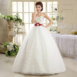 Discount Korean Red Wedding Gowns Korean Red Wedding Gowns 2019 On