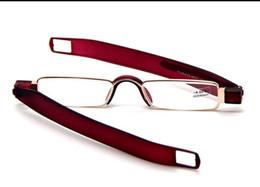 Складывающиеся очки для чтения онлайн-Оптовая карманный портативный складной мини - компьютер ТВ очки для чтения читатели металлический каркас