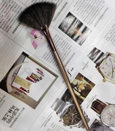 Косметические кисти-макияж кисти-один коричневый бронзовый вентилятор кисти 120 шт. / лот от Поставщики оптовые торты для печенья