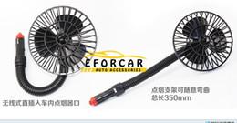 Wholesale Car Auto Cool Air - New Mini 12V Car Vehicle Air Cooling Fan Cooler Flexible Auto Electronics Car Fan Auto Fans