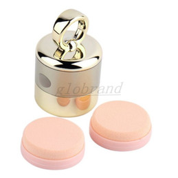 Wholesale Smart Puff - 2018 NEW Hot Selling wholesale 3D Electric Smart Foundation Face Powder Vibrator Puff Sponge Cosmetic Beauty Spa Tool GLO