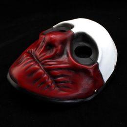 Wholesale Masquerade Wolf Masks - High-grade handcraft resin prop Halloween cosplay Masquerade Payday 2 Masks The heist Wolf Mask Demon joker mask Freeshipping