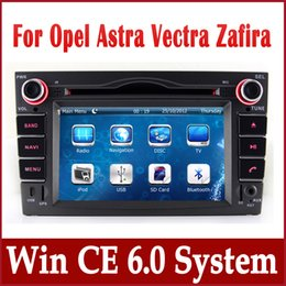 Wholesale Opel Zafira Dvd Gps - 2-Din Head Unit Car DVD Player GPS Navigation for Opel Astra Vectra Zafira w  Navigator Radio Bluetooth TV USB AUX Audio Video Stereo