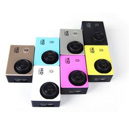 caméra d'action automobile hd Promotion SJ4000 style A9 2 Pouces LCD Écran 1080 P Full HD Action Caméra 30 M Étanche Caméscopes SJcam Casque Sport DV Voiture DVR DHL libre OTH160
