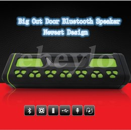 Wholesale Best Plastic Cards - Bluetooth Speaker Big Out Door New Design Wireless Speaker TF-Card Best Quality Best Body Style Nice Music Play