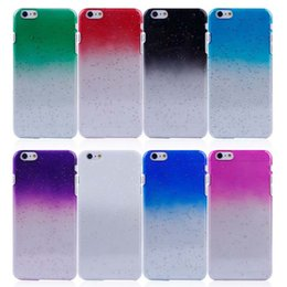Wholesale Iphone Rain Drop - Crystal Gradient Rain Drop Hard PC Back Case Cover Raindrop Shell for iPhone 6G 6 Plus 6+ 5 5G 5S 5C 4S 4