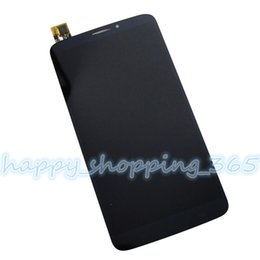 Wholesale Alcatel One Touch Hero - Wholesale-For Alcatel One Touch Hero 8020 8020D LCD Display touch screen Assembly free tools replacment