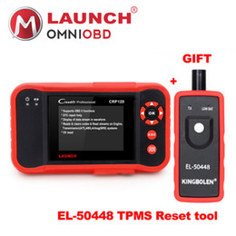 Wholesale french language tools - Launch X431 Creader CRP129 diagnostic tool OBD2 Code reader Scanner with Multi-language CRP 129 Support Oil reset ABS DTC SRS