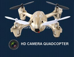 Wholesale Hd Camera Ufo Aircraft - Wholesale-Newest RC Quadcopter 2.4G 6CH HD camera 4-Axis UFO Aircraft Aerial photography remote control helicopter electronic toy