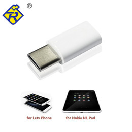 Argentina Al por mayor-Hi-speed USB3.1 Tipo C Macho a Micro USB Hembra Adaptador Convertidor Conector Para Nokia N1 Pad Letv OnePlus dos teléfonos celulares cheap speed converter Suministro