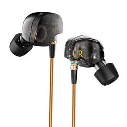 Canada KZ ATE dernière marque originale Super Bass In-Ear Ecouteurs / Ecouteurs avec Micro 3.5mm Hifi Plaqué Or Go Pro Music Casque / Eearphone cheap pro ears gold Offre