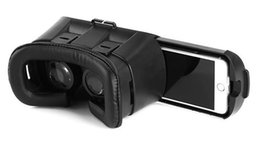 Wholesale Andriod Cases - 3D Glasses VR BOX Professional Google andriod Cardboard Polarized Virtual Reality Head mounted Case Smart Phone Bluetooth Controller Gamepad
