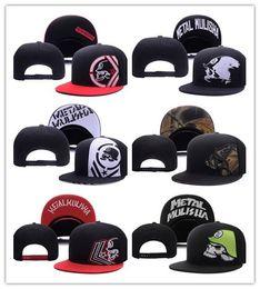 Wholesale Metal Snapback Hats - Good Sale Metal Snapback Hat Snap Back Hat For Men Summer Baseball Cap Mulisha Cheap Fox Hip Hop Hat Adjustable Women Baseball Cap