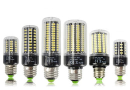 Wholesale Led Candle Flicker Bulb - 1Pcs 5736 SMD More Bright 5730 5733 LED Corn lamp Bulb light 3.5W 5W 7W 8W 12W 15W E27 E14 85V-265V No Flicker Constant Current