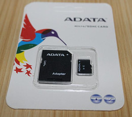 Wholesale Memory Card Real 2gb - 100% Real ADATA 1GB 2GB 4GB 8GB 16GB 32GB 64GB 128GB 256GB Class10 Micro SD TF Memory SDHC Card SD Adapter Retail Package