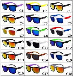 Wholesale Spying Mirror - hot Free Shipping Brand Designer Spied Ken Block Helm Sunglasses Multicolour Coating Lens Men Oculos De Sol Sun Glasses 21 Colors