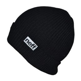 Wholesale Beanies Bboy - Wholesale-2015 winter Neff Beanies BBOY Hiphop Winter hats for man woman